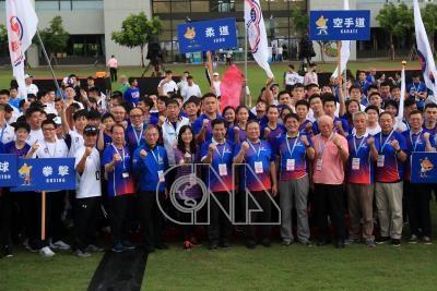 模擬東京奧運對抗賽開幕 潘文忠林鴻道出席