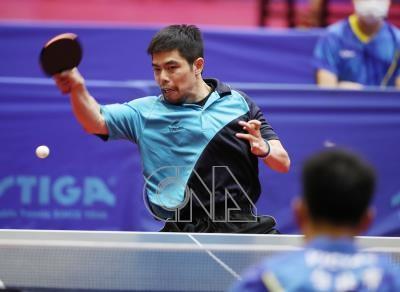 全運會桌球團體賽高雄市奪金  莊智淵獨攬2點