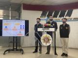 地下工廠產逾47萬片雙鋼印口罩  刑事局說明